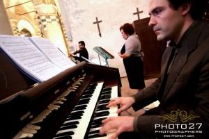 organo, violino e voce